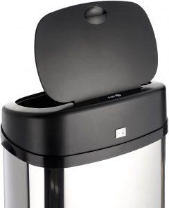 poubelle automatique SB-RECT50L-CHR de Dihl