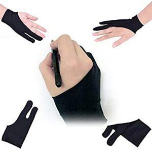 tablette graphique + gant à deux doigts