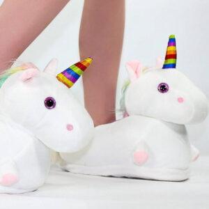 chaussons licorne design
